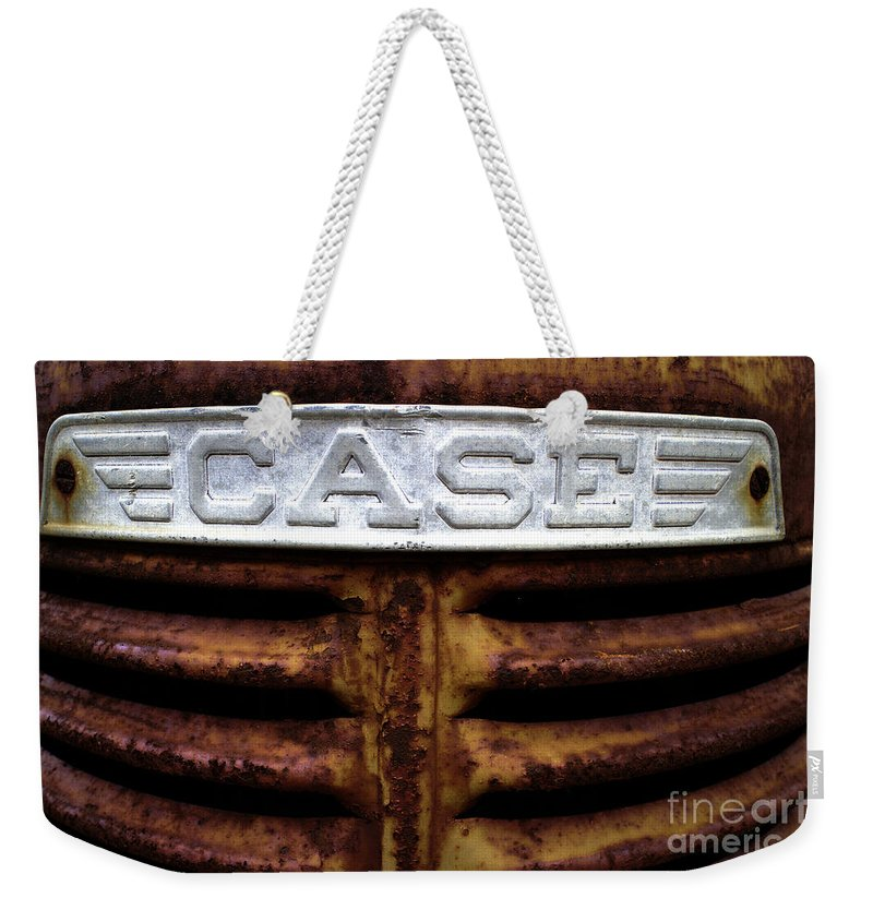 Case Weekender Tote Bag featuring the photograph Case by Gary Richards