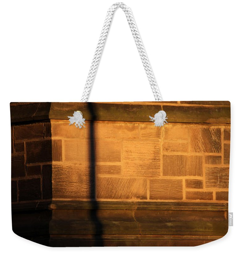Shadow Weekender Tote Bag featuring the photograph Casting Shadows by Karol Livote