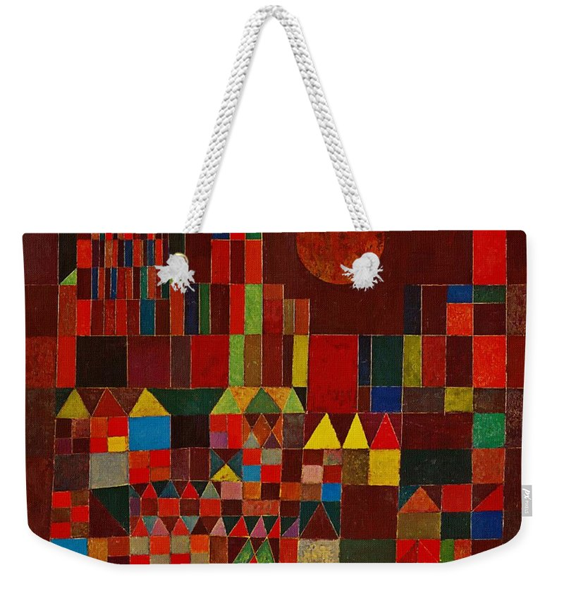 Castle And Sun Weekender Tote Bag For Sale By Paul Klee