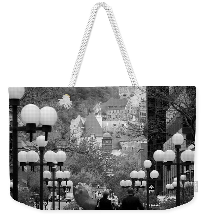 Interior Design Weekender Tote Bag featuring the photograph Castle On A Hill by Lisa Knechtel