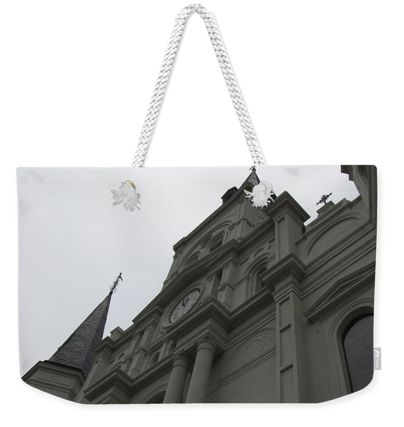Church Weekender Tote Bag featuring the photograph Cathedral II by Beth Vincent