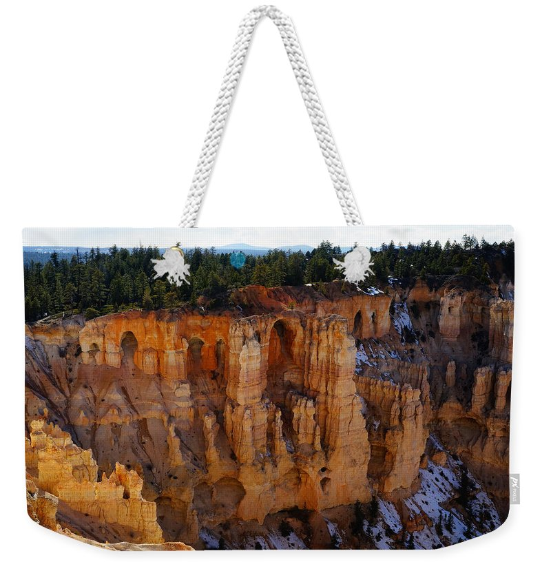 Cathedral Of God Weekender Tote Bag featuring the photograph Cathedral Of God by Tayne Hunsaker