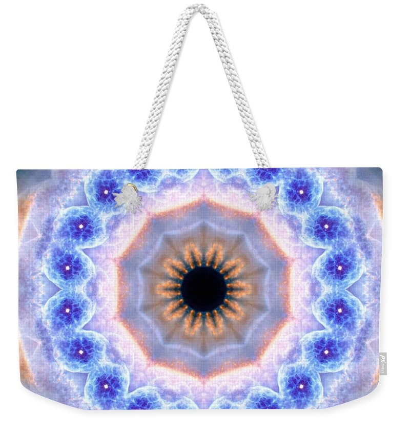 Cats Eye Nebula I Weekender Tote Bag featuring the photograph Cats Eye Nebula I by Derek Gedney