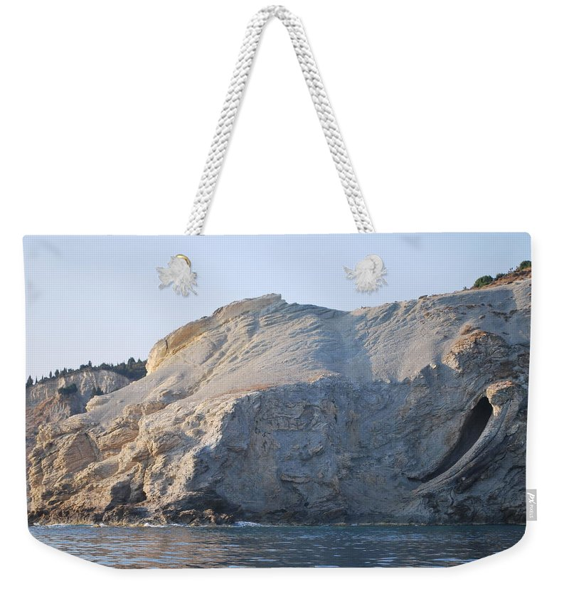 Cave Weekender Tote Bag featuring the photograph Cave by George Katechis