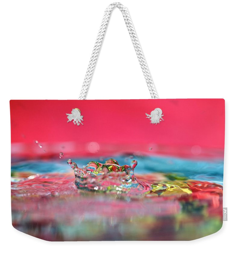 Celebration Weekender Tote Bag featuring the photograph Celebration by Lisa Knechtel