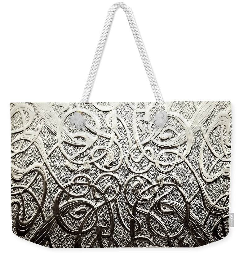 Celtic Weekender Tote Bag featuring the photograph Celtic Glass by Charlie Brock