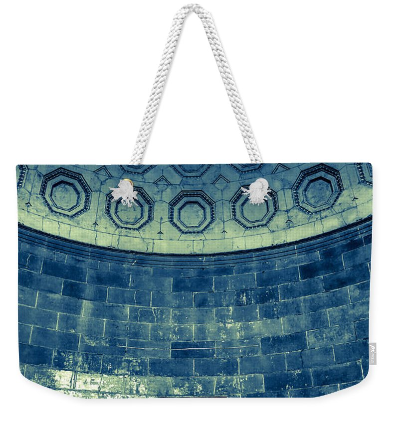 Doors Weekender Tote Bag featuring the photograph Center Stage New York by Digital Kulprits