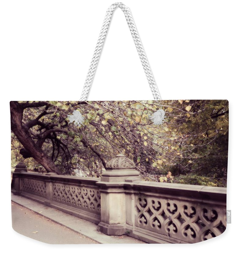 Central Park Weekender Tote Bag featuring the photograph Central Park - New York by Marianna Mills