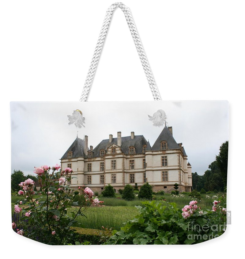 Palace Weekender Tote Bag featuring the photograph Chateau De Cormatin Garden by Christiane Schulze Art And Photography