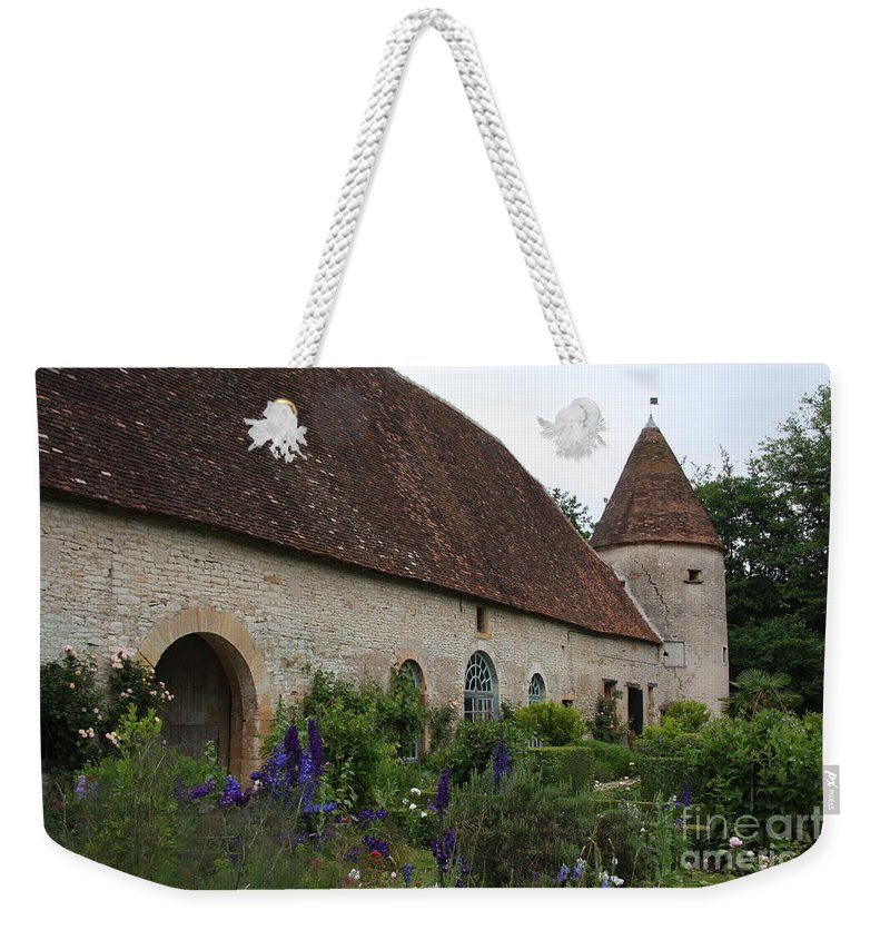 Palace Weekender Tote Bag featuring the photograph Chateau De Cormatin Kitchen Garden - Burgundy by Christiane Schulze Art And Photography
