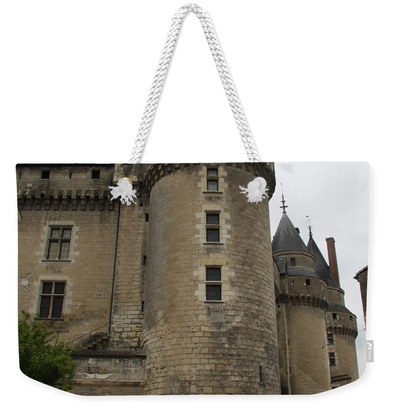 Castle Weekender Tote Bag featuring the photograph Chateau De Langeais - France by Christiane Schulze Art And Photography
