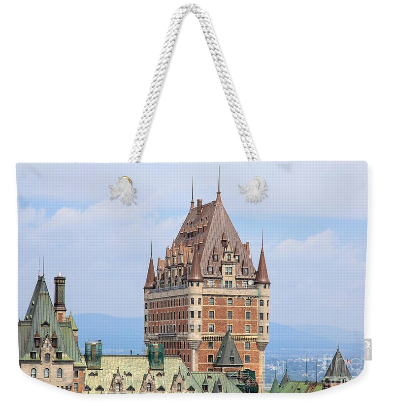 Quebec City Photographs Weekender Tote Bags