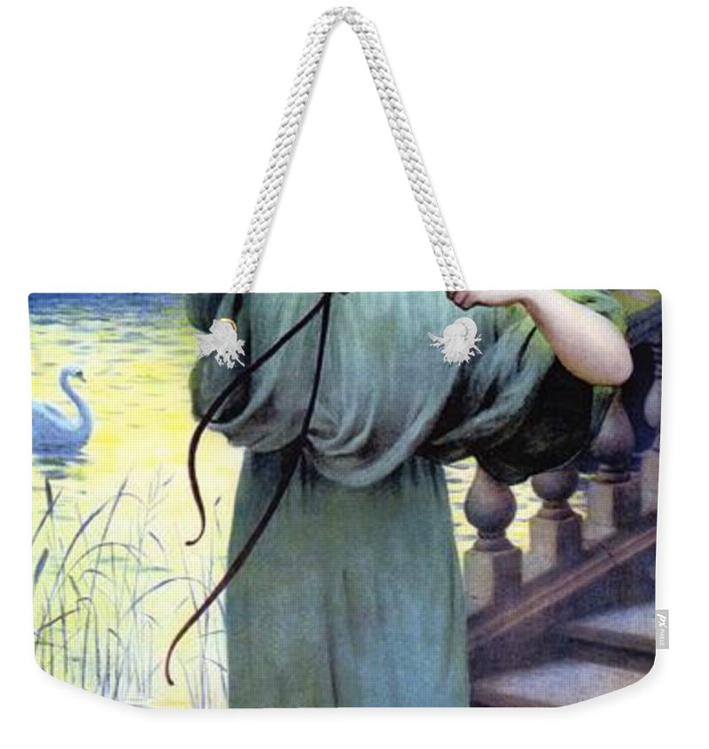 Chaussres Laffite Weekender Tote Bag featuring the digital art Chaussres Laffite by Artist Unknown
