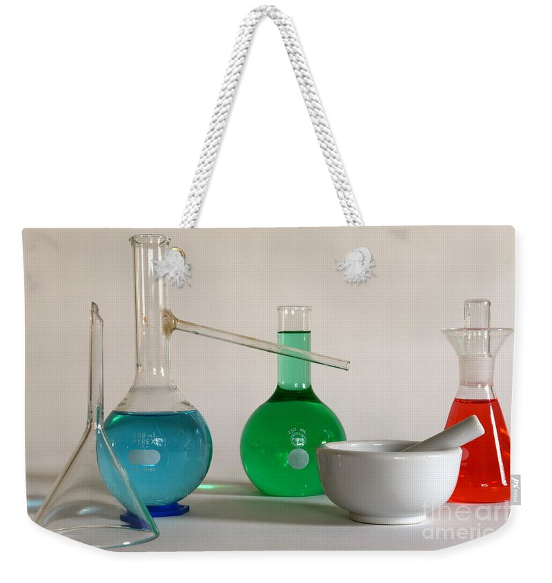 Paul Ward Weekender Tote Bag featuring the photograph Chemistry Class by Paul Ward