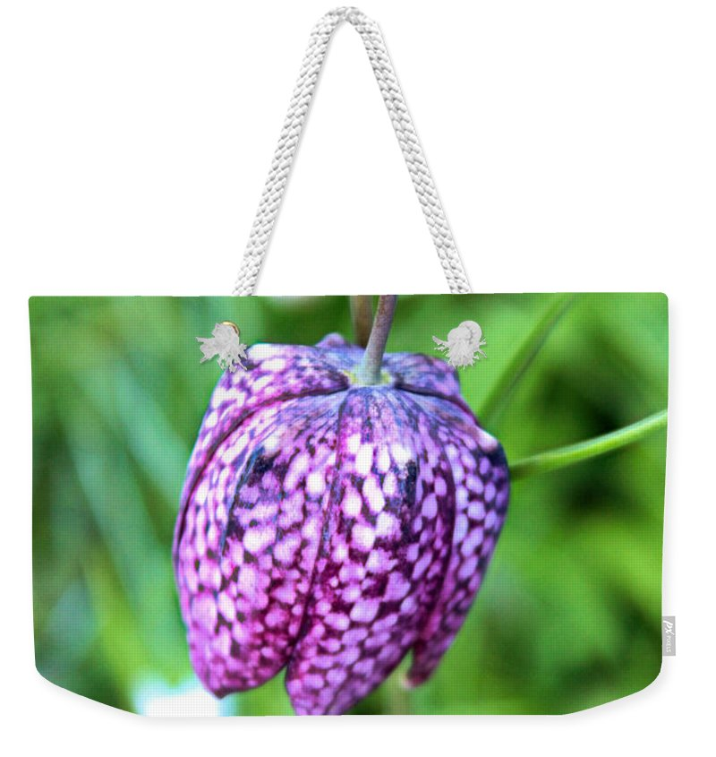Spring Weekender Tote Bag featuring the photograph Chequered by Martin Newman