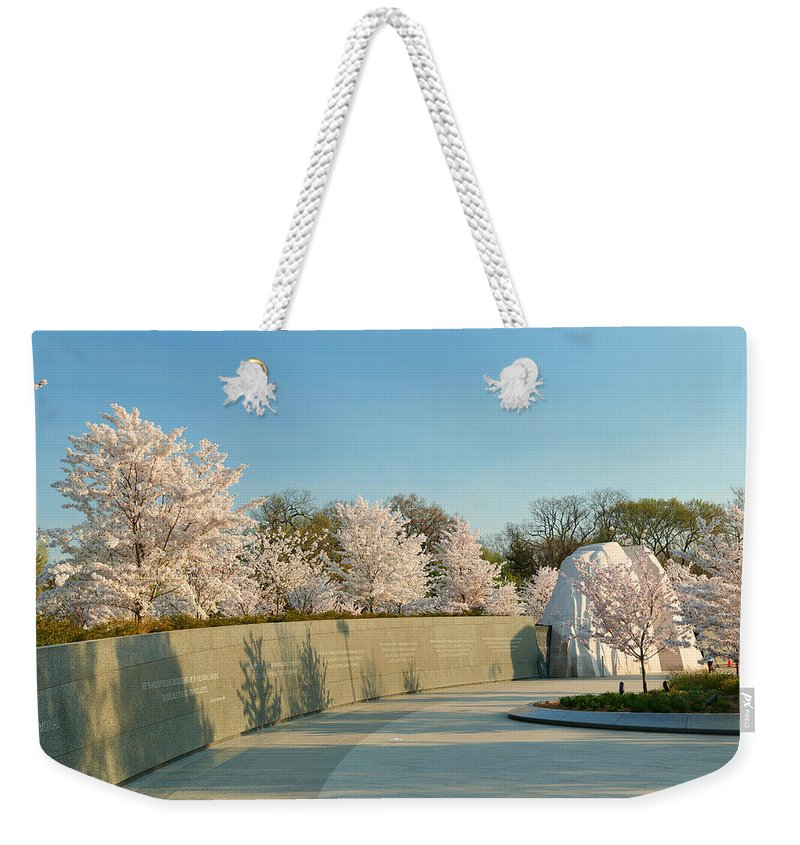 Architectural Weekender Tote Bag featuring the photograph Cherry Blossoms 2013 - 022 by Metro DC Photography