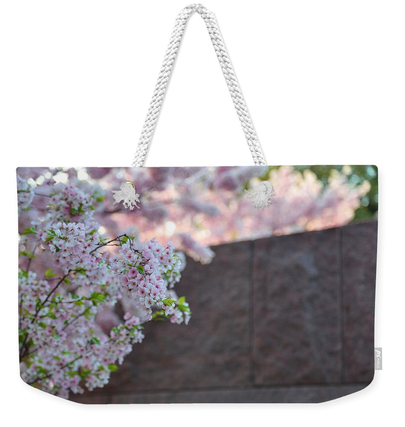 Architectural Weekender Tote Bag featuring the photograph Cherry Blossoms 2013 - 066 by Metro DC Photography