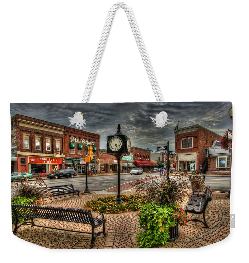 Chesterton Weekender Tote Bag featuring the photograph Chesterton 2-1 by Scott Wood
