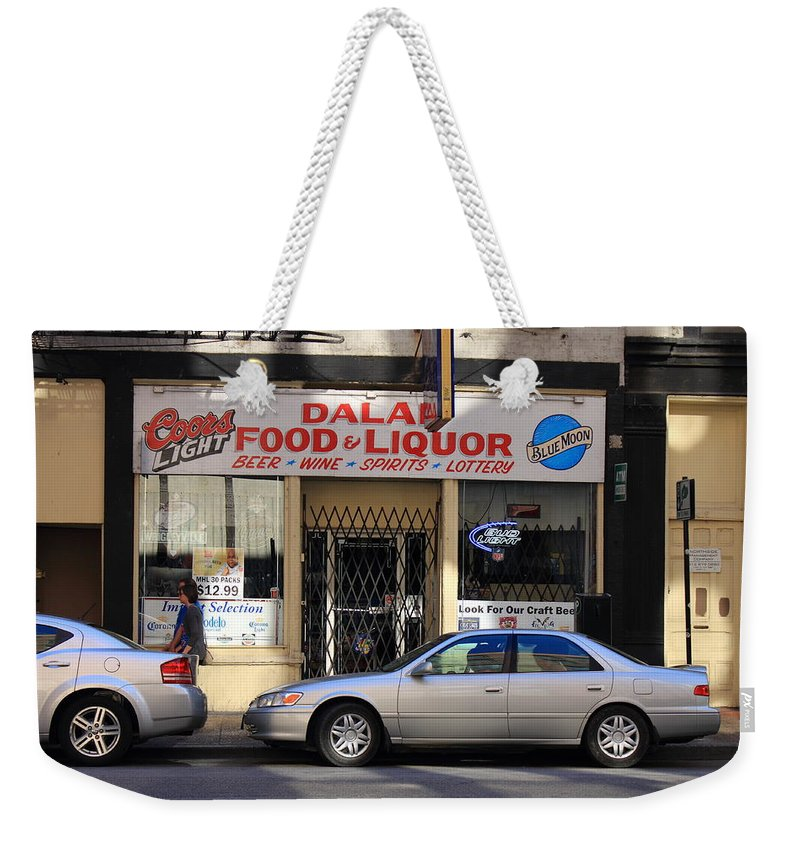 America Weekender Tote Bag featuring the photograph Chicago Storefront 3 by Frank Romeo
