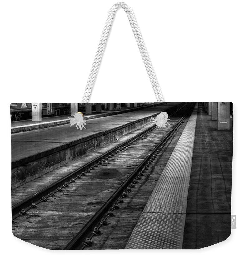 Station Weekender Tote Bags
