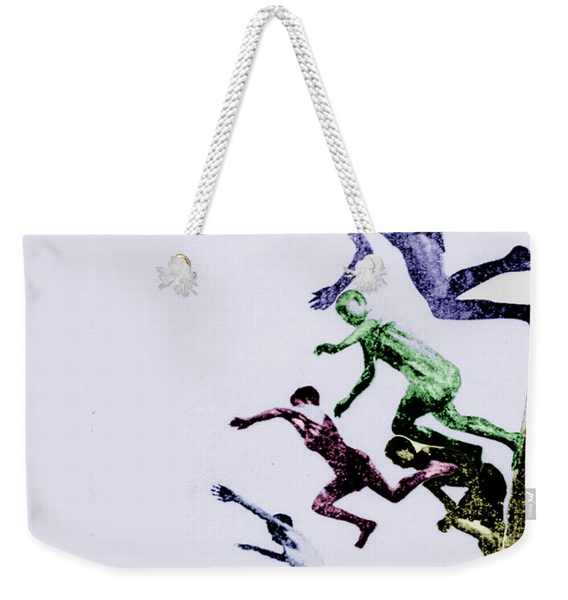 Children Weekender Tote Bag featuring the photograph Childhood by Tony Rubino