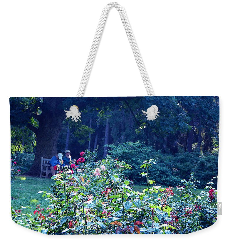 Nature Weekender Tote Bag featuring the photograph Chilling Out by Said Oladejo-lawal