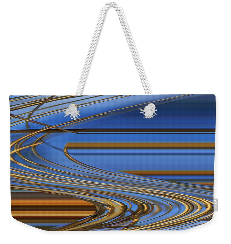 Chocolate Weekender Tote Bag featuring the digital art Chocolate by Carol Lynch