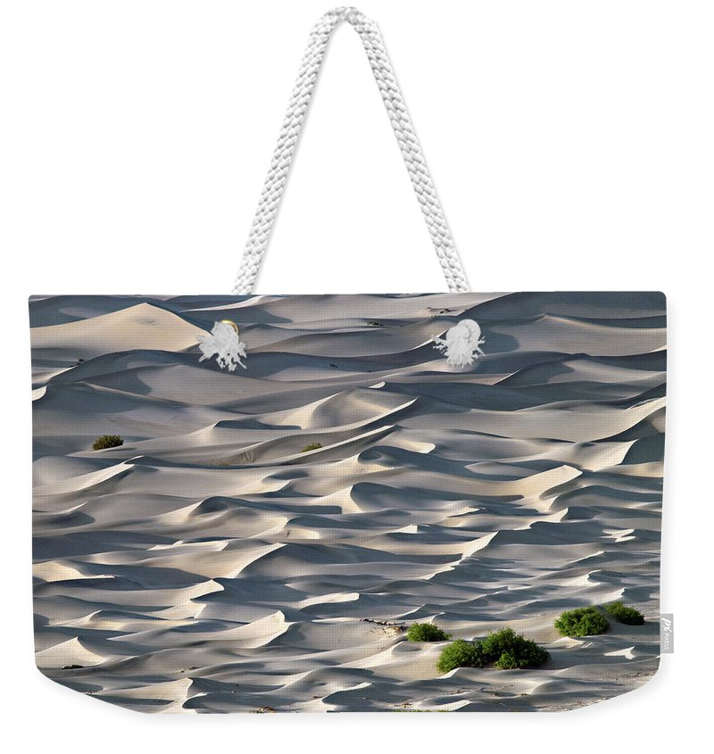 Dunes Weekender Tote Bag featuring the photograph Choppy Seas On The Dunes by Joe Schofield
