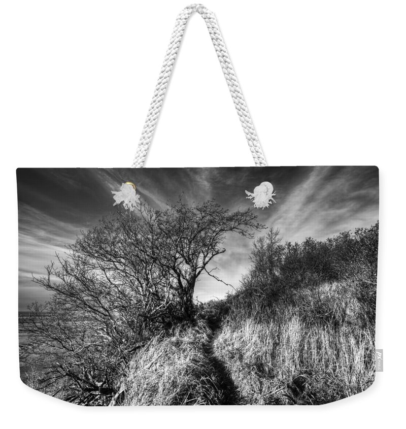 Kincaid Park Weekender Tote Bag featuring the photograph Chosen Path by Ted Raynor