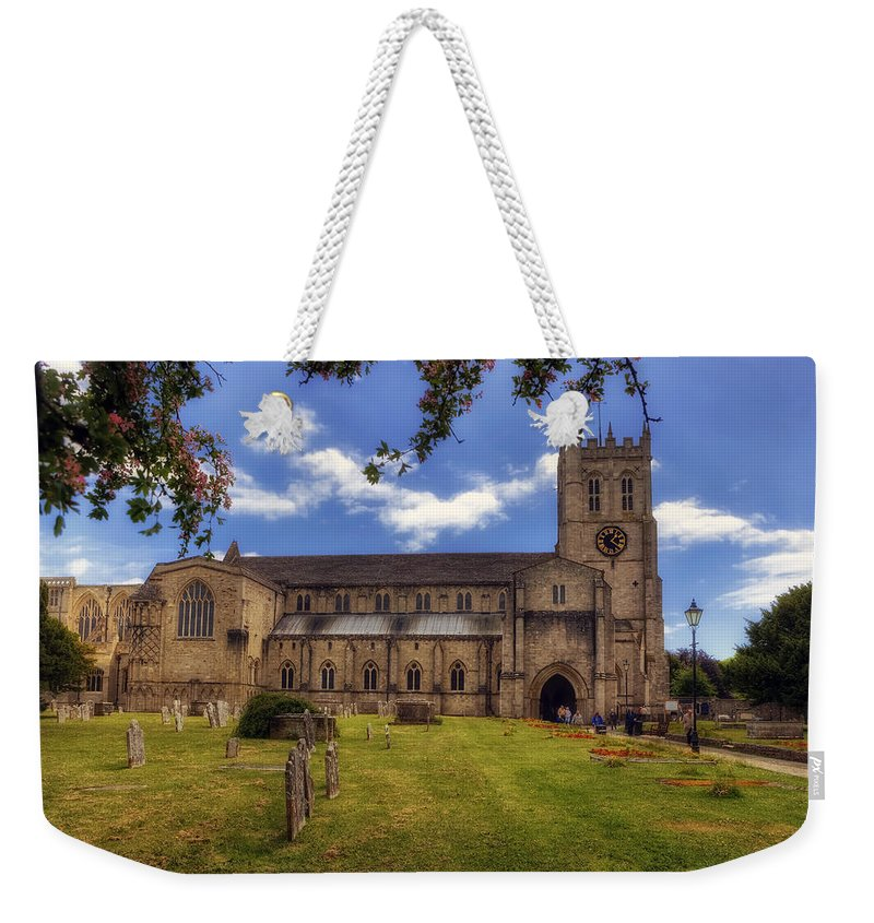 Christchurch Priory Weekender Tote Bag featuring the photograph Christchurch Priory by Joana Kruse
