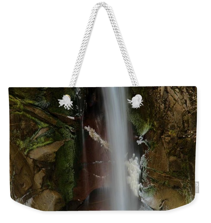 Christine Falls Weekender Tote Bag featuring the photograph Christine Falls by Adam Jewell