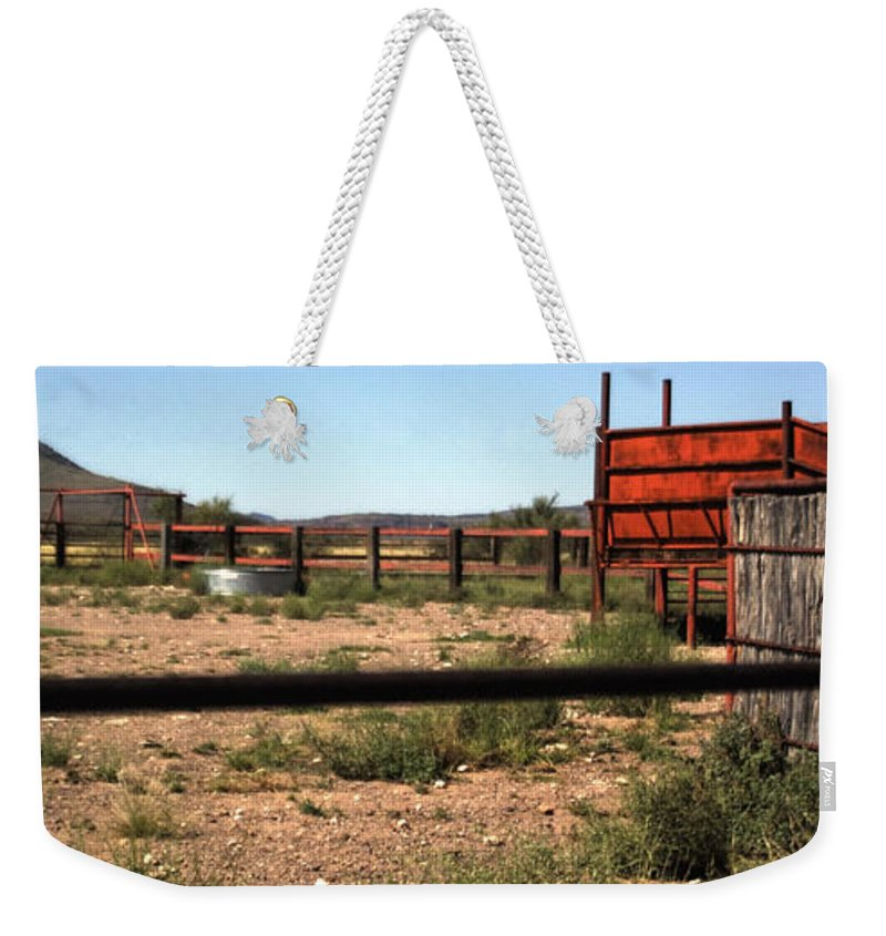 Chute Weekender Tote Bag featuring the photograph Chute And Butte 14979 by Jerry Sodorff