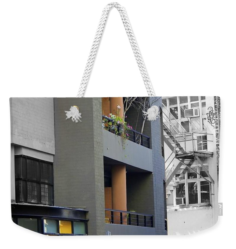 Building Weekender Tote Bag featuring the photograph City Art by Alanna DPhoto