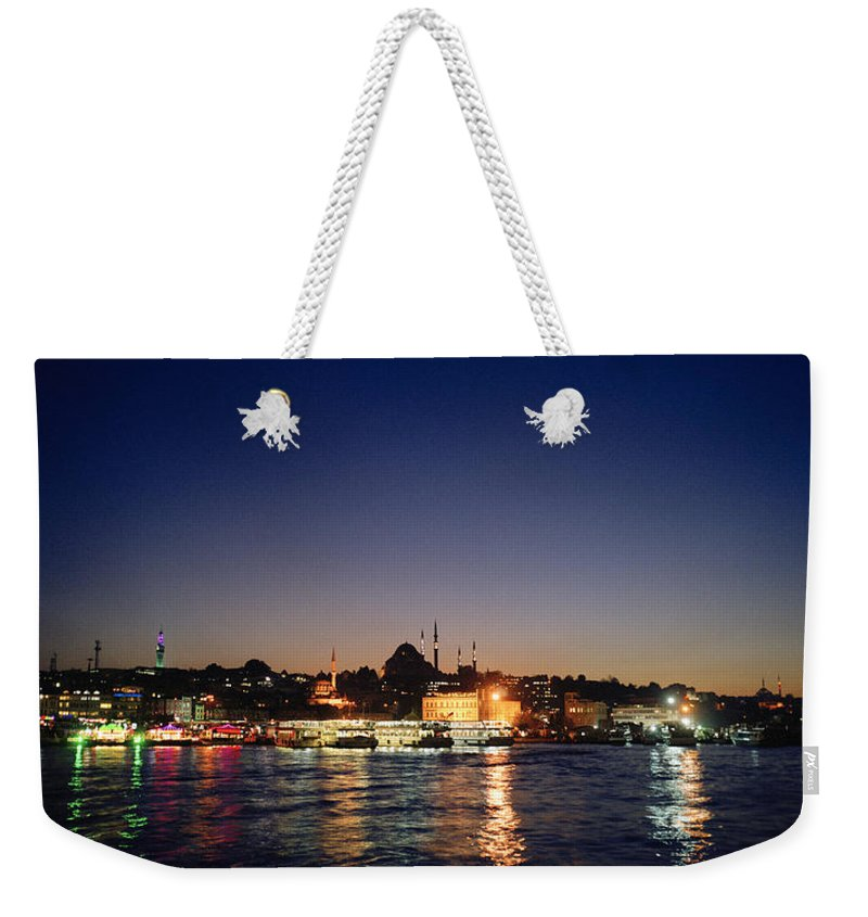 Istanbul Weekender Tote Bag featuring the photograph Colours Of Istanbul by Shaun Higson