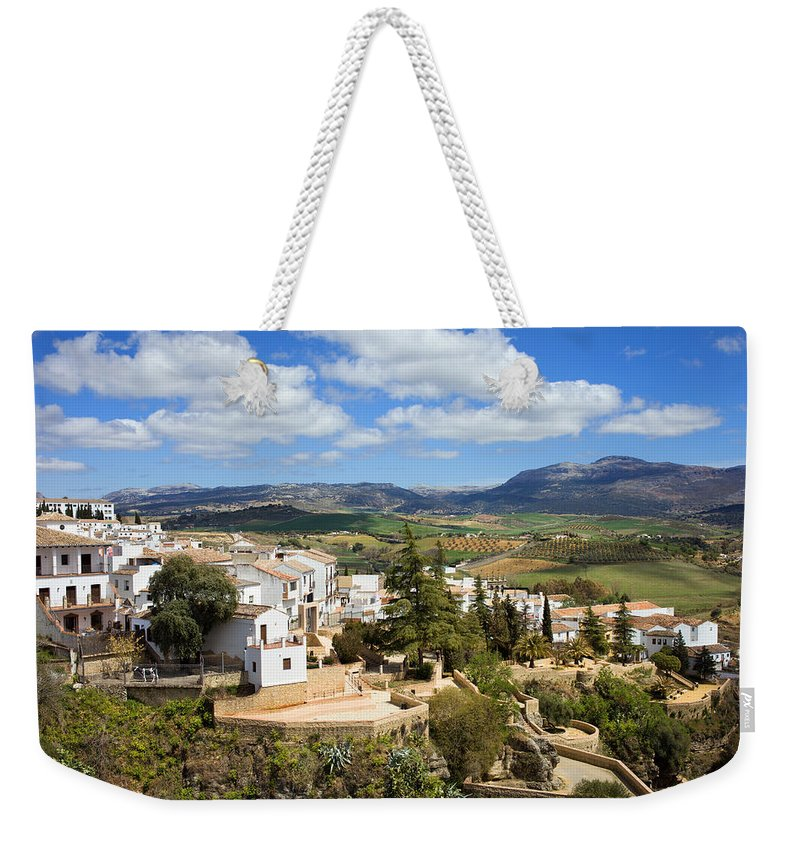 Ronda Weekender Tote Bag featuring the photograph City Of Ronda In Spain by Artur Bogacki