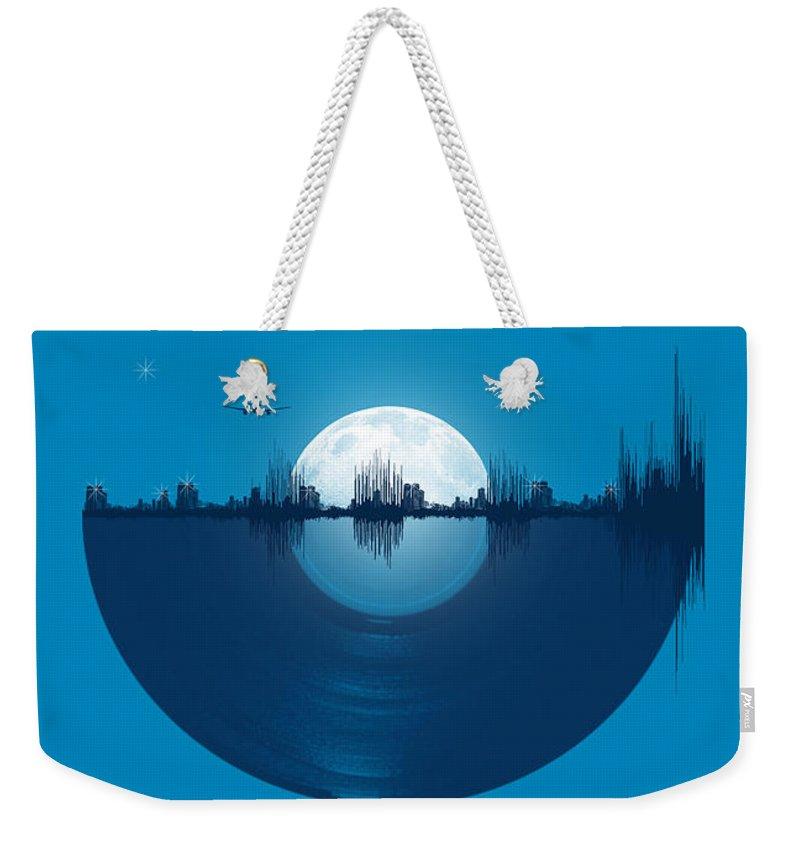 Skyline Weekender Tote Bags