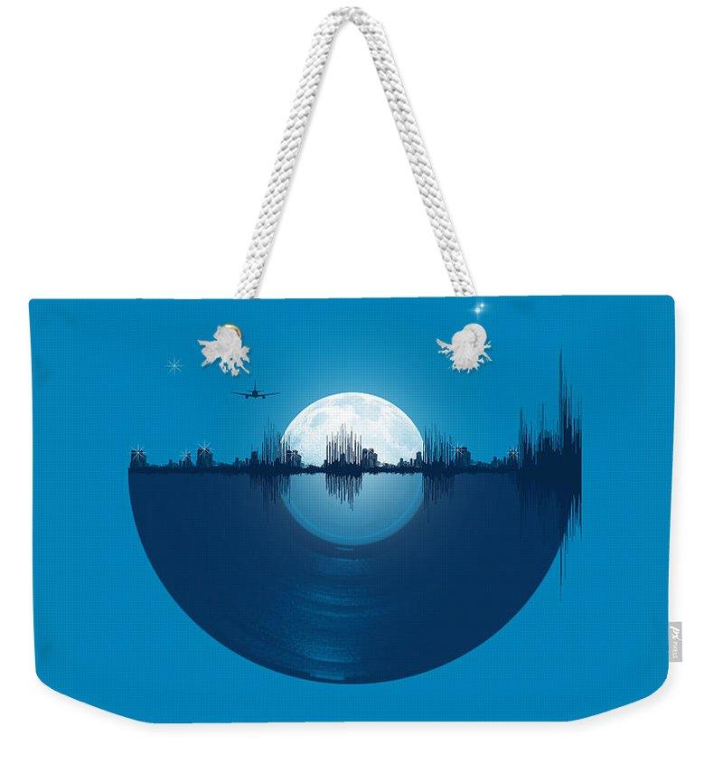 Music City Weekender Tote Bags