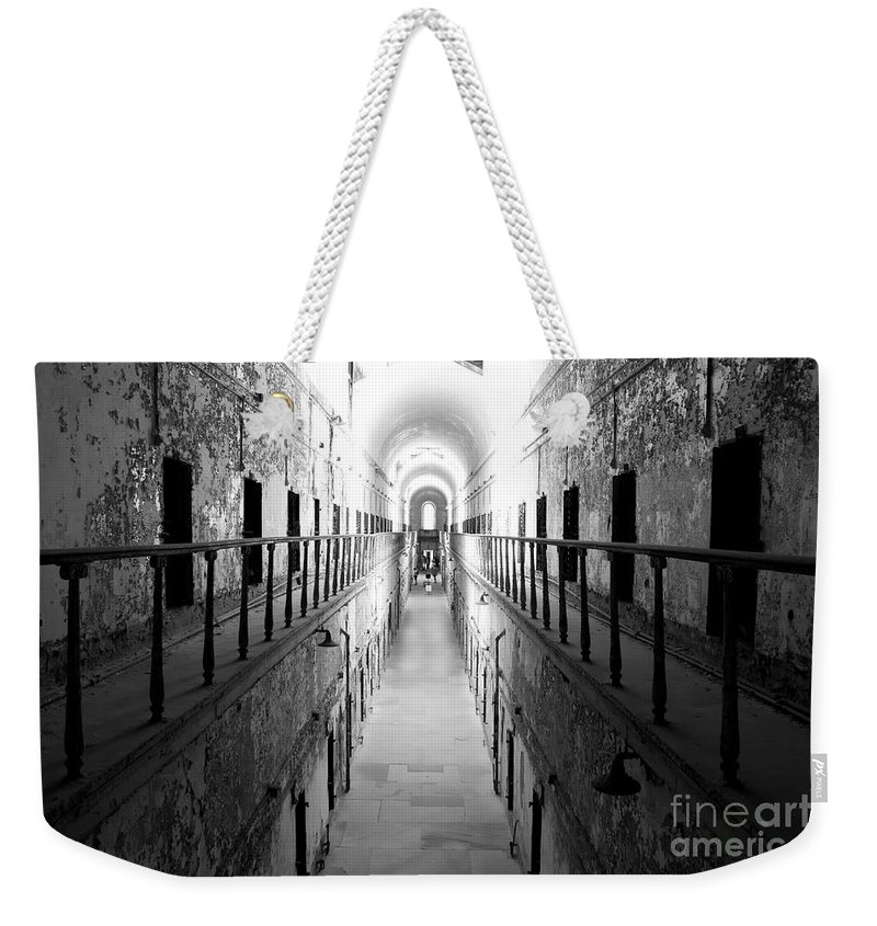 eastern State Weekender Tote Bag featuring the photograph Classic Eastern State by Traci Law
