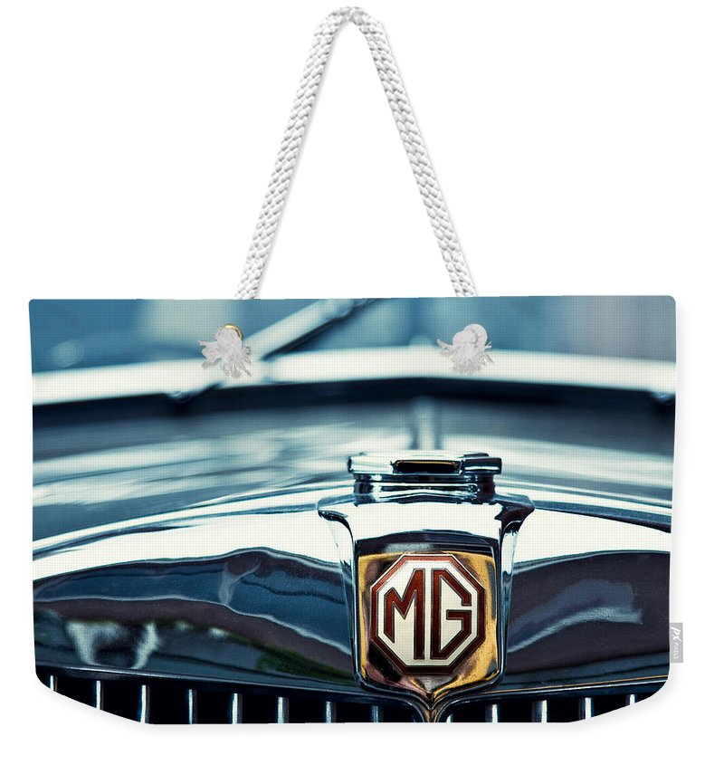 Mg Wa Weekender Tote Bag featuring the photograph Classic Marque by Dave Bowman