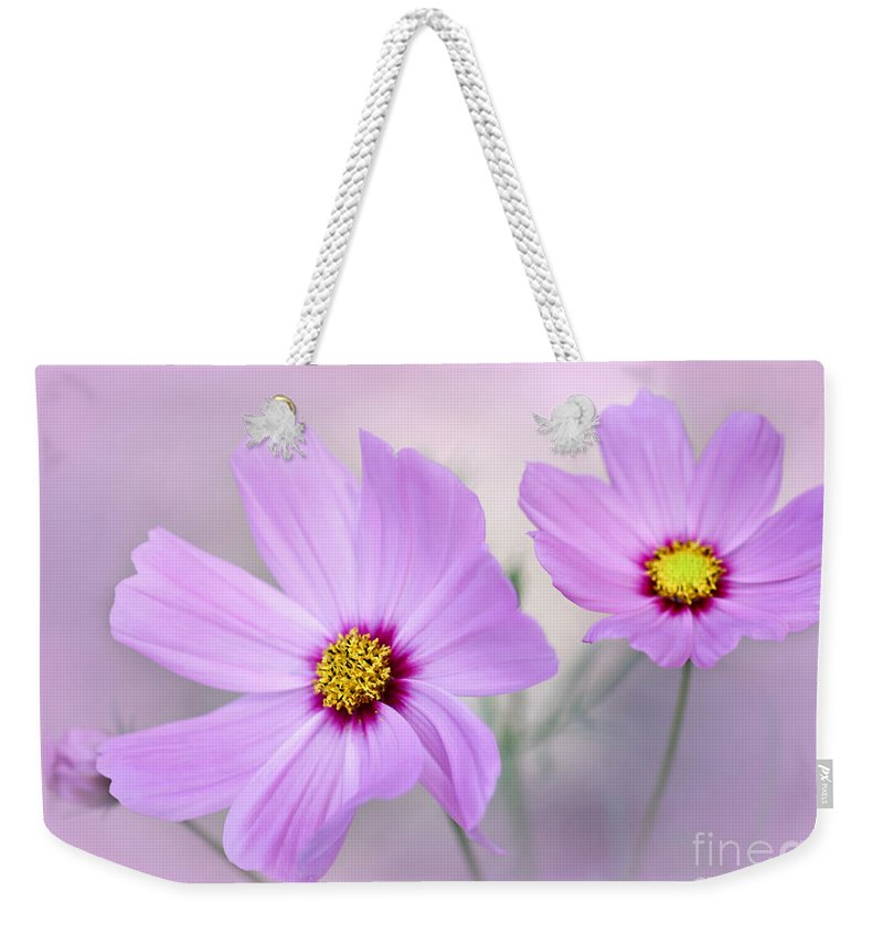 Macro Weekender Tote Bag featuring the photograph Classy And Cosmopolitan by Sabrina L Ryan