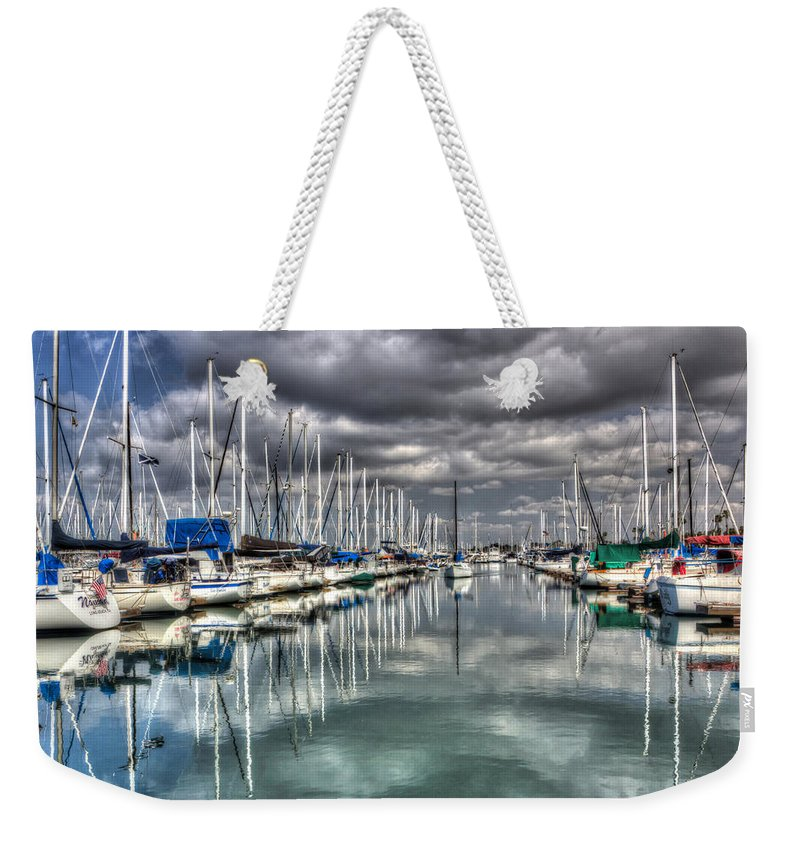 Adventure Weekender Tote Bag featuring the photograph Clearing Storm by Heidi Smith