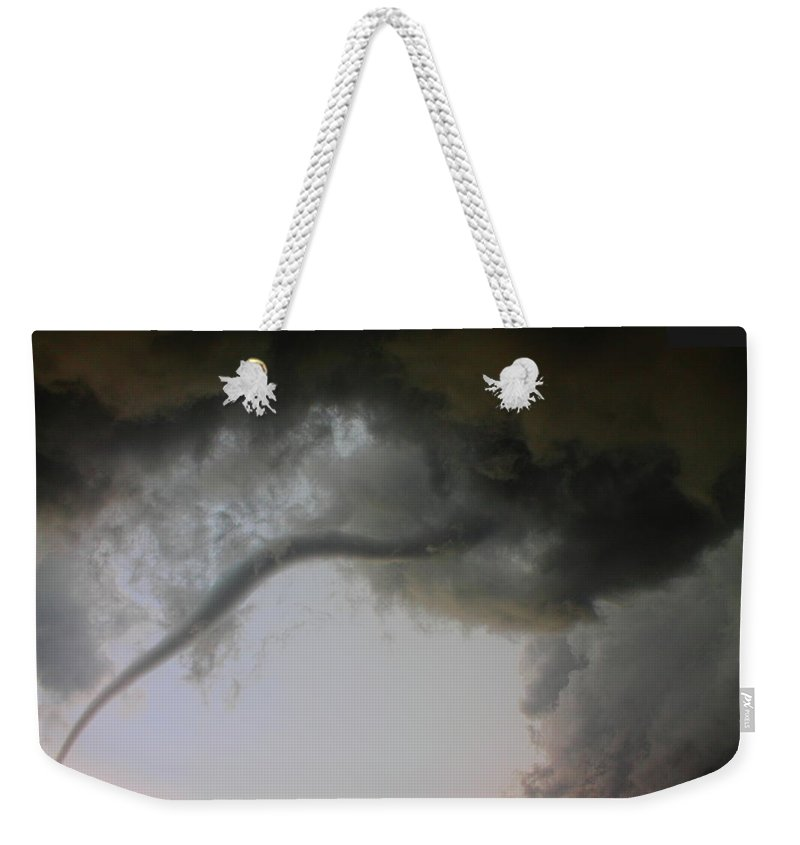 Thunderstorm Weekender Tote Bag featuring the photograph Close Enough by Nzp Chasers