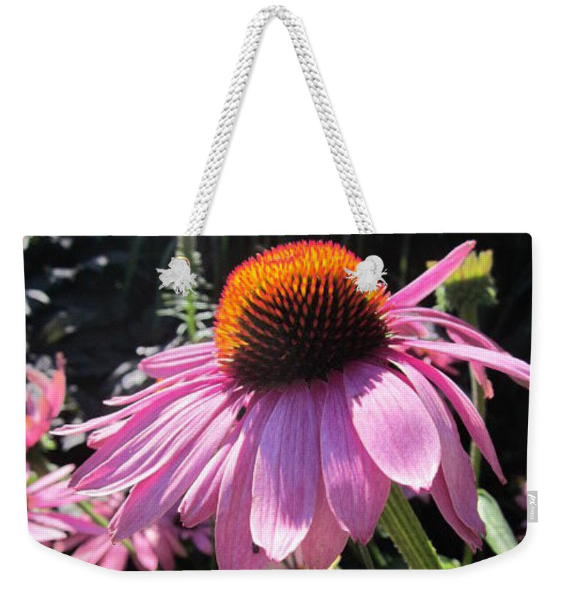 Flowers Weekender Tote Bag featuring the photograph Closeup by Rosita Larsson