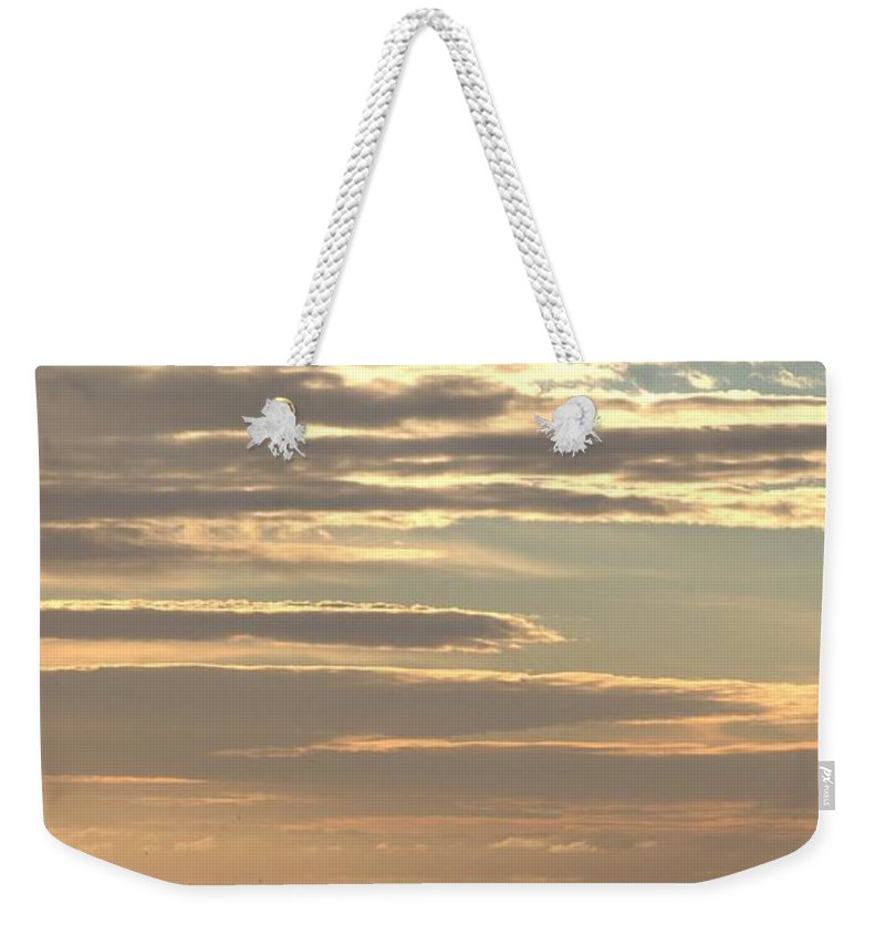 Cloud Weekender Tote Bag featuring the photograph Cloud Abstract II by Samantha Glaze