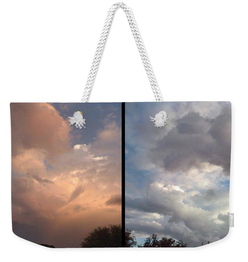 Skyscape Weekender Tote Bags