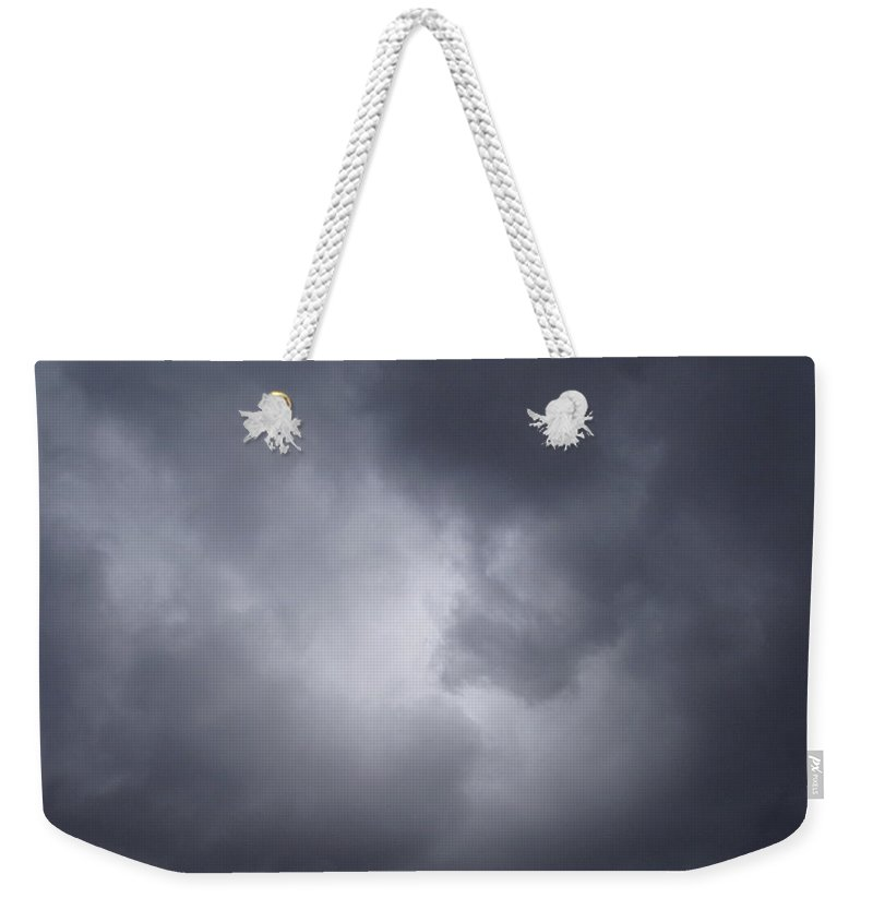 Clouds Weekender Tote Bag featuring the photograph Cloud Energy by Deborah Crew-Johnson