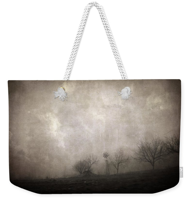 Foggy Weekender Tote Bag featuring the photograph Cloud Zero by Zapista