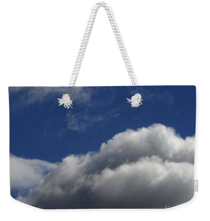 Clouds Weekender Tote Bag featuring the photograph Clouds by Carol Lynch