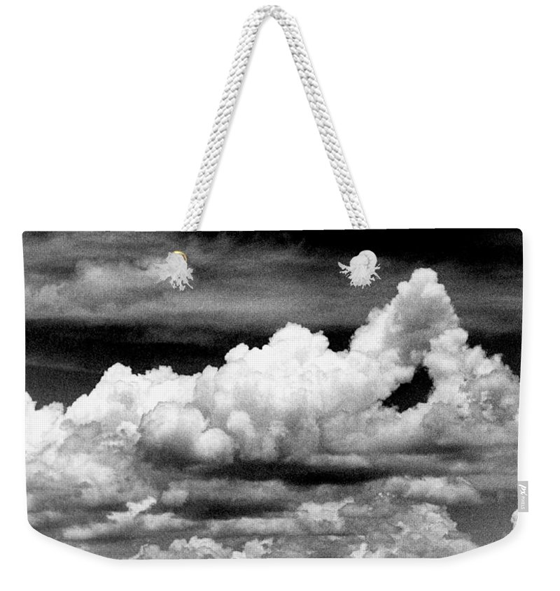 Clouds Weekender Tote Bag featuring the photograph Clouds by Jim Smith