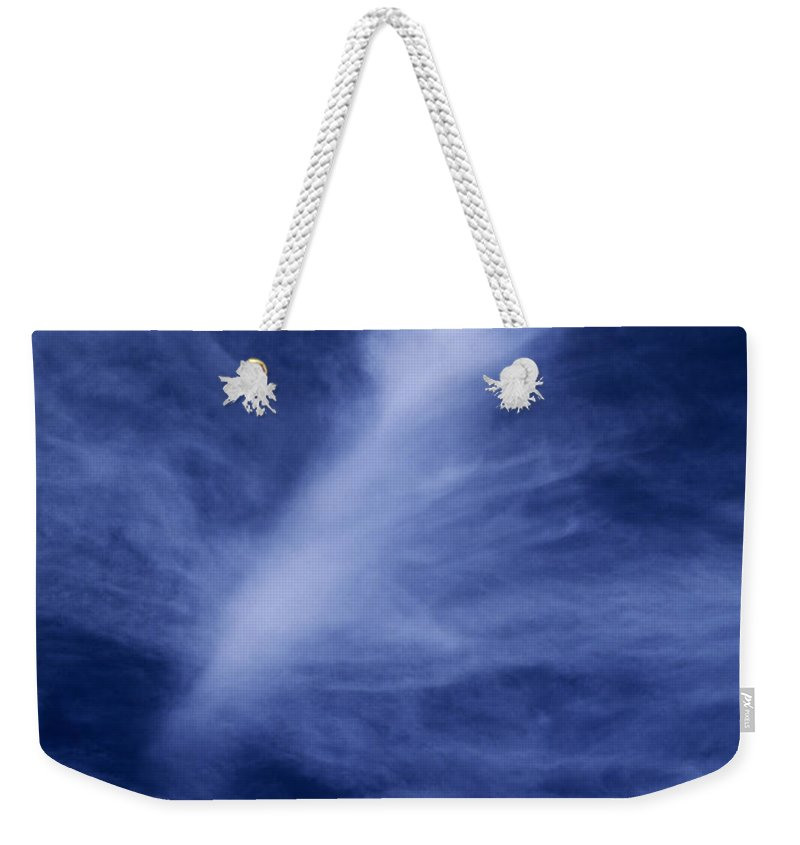 North America Weekender Tote Bag featuring the photograph Clouds Over Middle Palisades Glacier California by Dave Welling